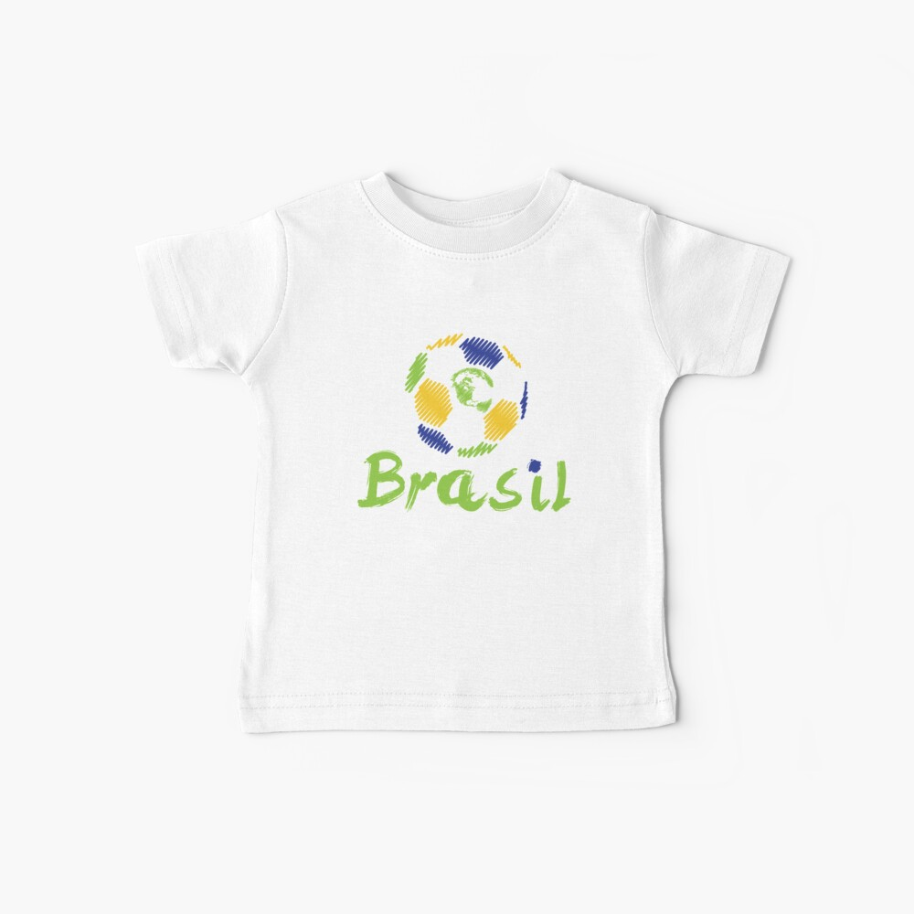 Brazilian soccer football Baby T-Shirt