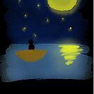 Night time fishing by Tonysonfire