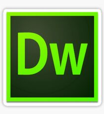 Adobe Dreamweaver Sticker
