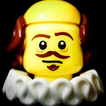 William Shakespeare in Lego form!! by aaronslego
