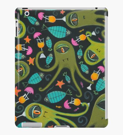 Sea Monster Party iPad Case/Skin