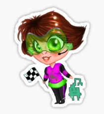 Bit Derby Girl Sticker