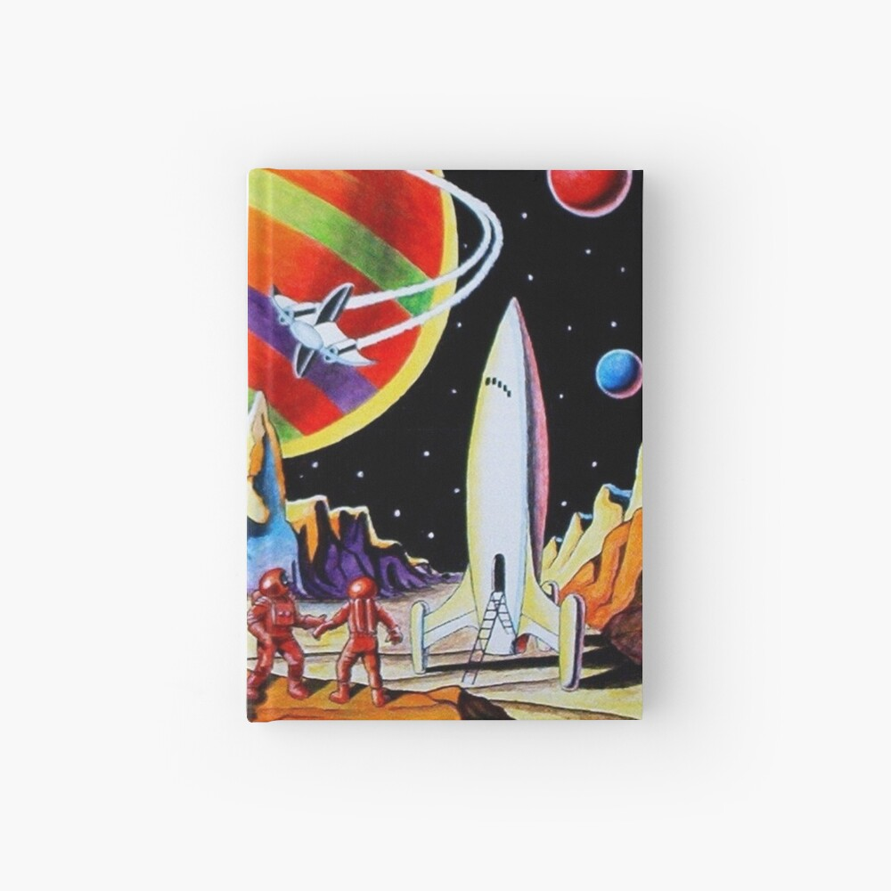 NEW WORLDS Hardcover Journal