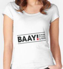BAAY (Black) Women's Fitted Scoop T-Shirt