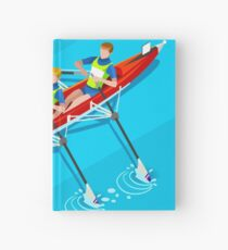 Canoe Rowing 2016 Summer Olympics Hardcover Journal