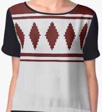 Traditional Jussipaita pattern from Finland Chiffon Top