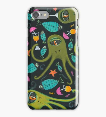 Sea Monster Party iPhone Case/Skin