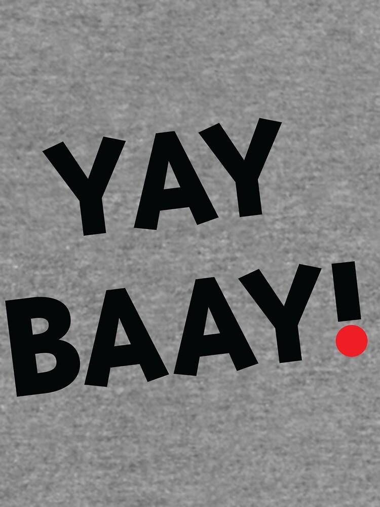 YAY BAAY (Black) by baay