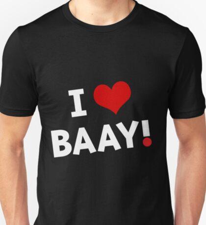 I LOVE BAAY (White) T-Shirt