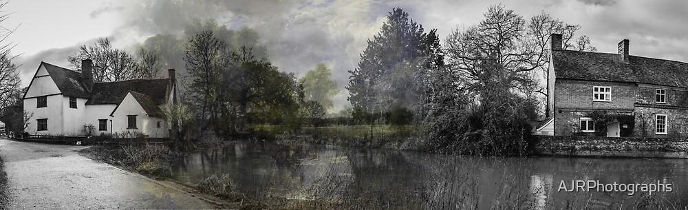 The Hay Wain at Flatford by AJRPhotographs