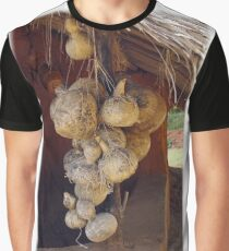 Gourds Drying Graphic T-Shirt