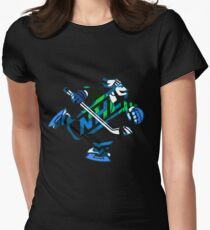 Vancouver Canucks Womens Fitted T-Shirt