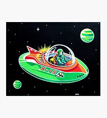 X-15 FLYING SAUCER Photographic Print