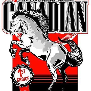 Canadian Horse by yetiwksp