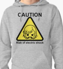 A Certain Scientific Electric Shock Pullover Hoodie