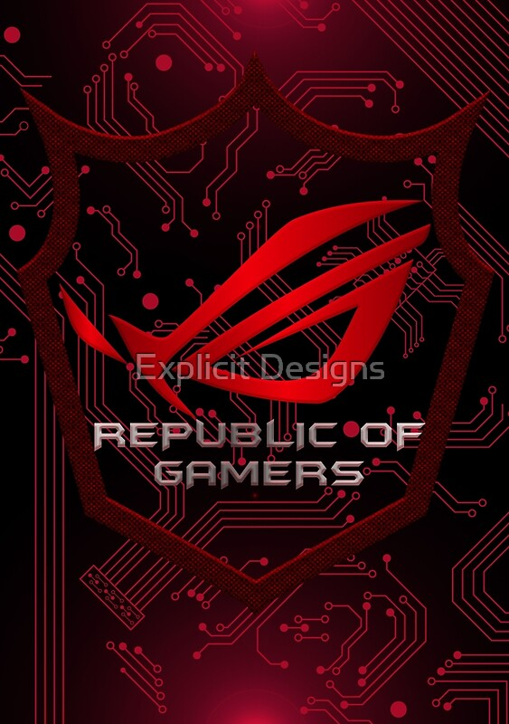 """Asus Republic of Gamers"" Posters by Explicit Designs ..."