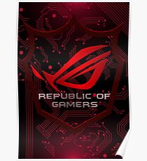 Asus Republic of Gamers Poster