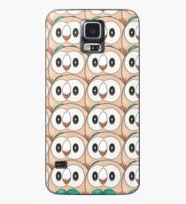 Rowlet (too many) Pokemon shirt Case/Skin for Samsung Galaxy