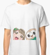 Kotori and Rowlet cornerface Classic T-Shirt