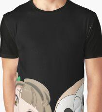 Kotori and Rowlet cornerface Graphic T-Shirt