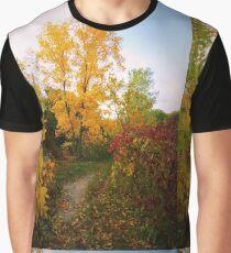 Autumn Trail Graphic T-Shirt