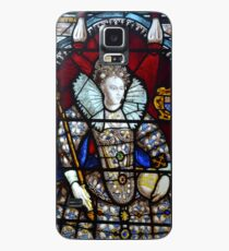 Queen Elizabeth I Stained Glass  Case/Skin for Samsung Galaxy