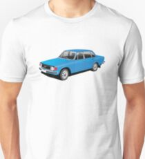 Volvo 140 Series illustration, blue T-Shirt