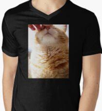 Petting a Fat Orange Cat T-Shirt