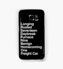 Trigger [white] Samsung Galaxy Case/Skin