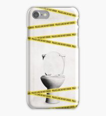 Crime Scene iPhone Case/Skin