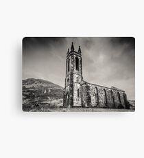 Dunlewey Church of Ireland Canvas Print
