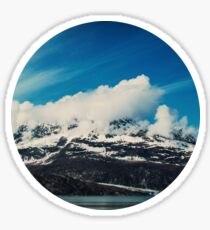Alaska Mountain Sticker
