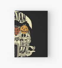 Say You Love Satan 80s Horror Podcast Logo Hardcover Journal