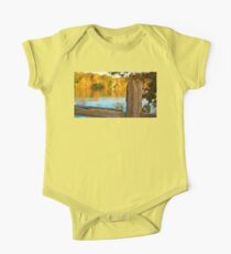 Fall Fence Post One Piece - Short Sleeve