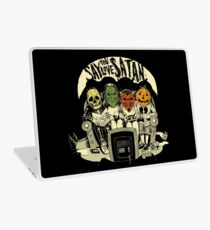 Say You Love Satan 80s Horror Podcast Logo Laptop Skin