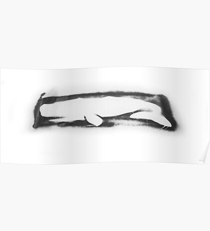 Artifice Whale Poster