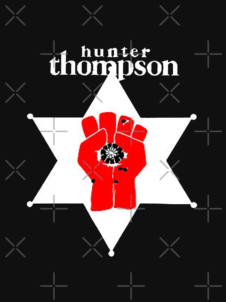 Hunter S Thompson Unisex T Shirt By Caplinger Redbubble