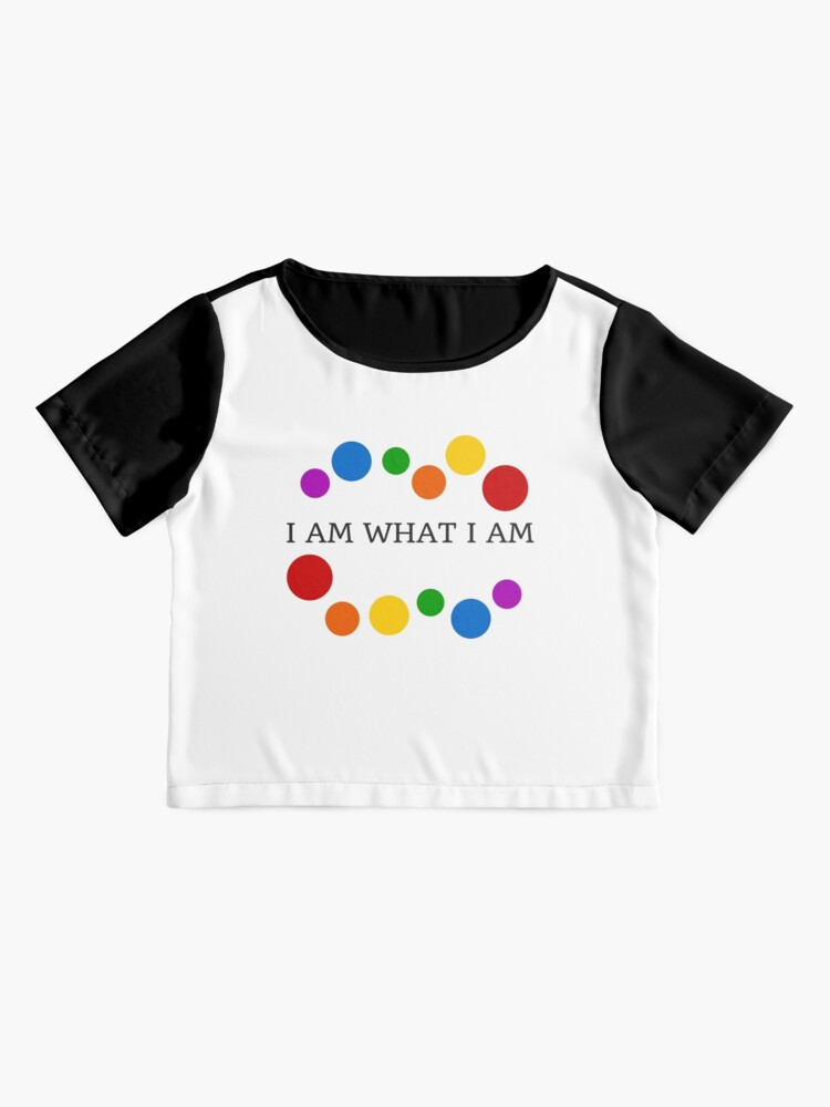 Alternate view of I AM WHAT I AM Chiffon Top