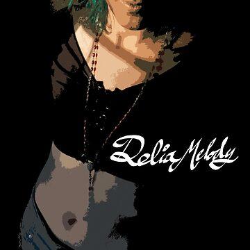 Delia Melody Pinup #1 by DesignsByDelia
