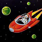 SPACE COUPE  by ward-art-studio