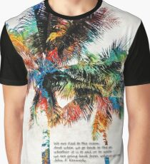 Colorful Palm Trees - Returning Home - By Sharon Cummings Graphic T-Shirt