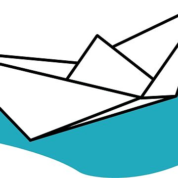 Origami Boat by falcon56