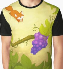 The Fox and the Grapes Graphic T-Shirt