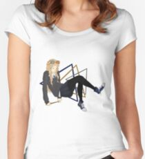 Luna Lovegood - Floating Women's Fitted Scoop T-Shirt