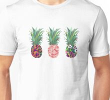 Pineapples rainbow Unisex T-Shirt