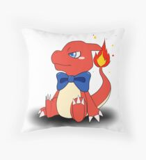 Charming Charmeleon Throw Pillow