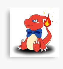 Charming Charmeleon Canvas Print