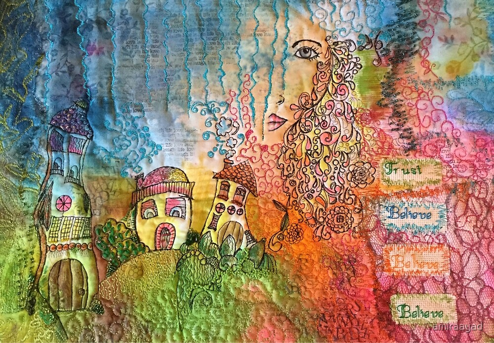 Art Whispers by amiraayad