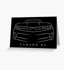 Chevy Camaro RS Greeting Card