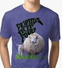 Vegan Victor - Friends Not Food Tri-blend T-Shirt